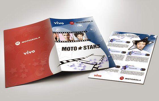 Pasta para Convenção de Vendas Vivo / Motorola