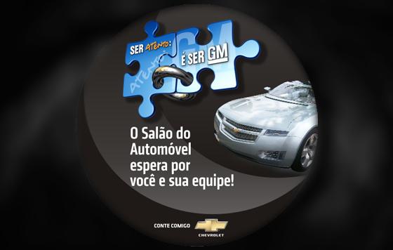 Logotipo e Identidade Visual de Campanha Interna GM