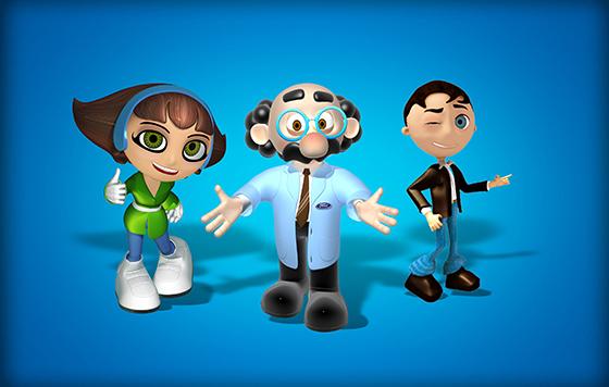 Personagens para Empresas