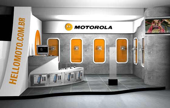Estande Motorola